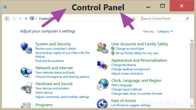 Windows 8 Display font setting