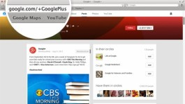 Google Plus custom URL (web address)