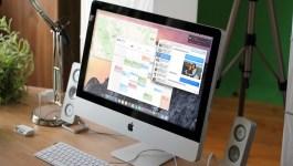 i Mac running OS X Yosemite
