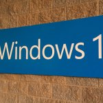 Windows 10 wall sign