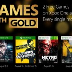 Free Xbox games for August 2015