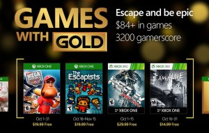 Xbox Games with Gold October 2016