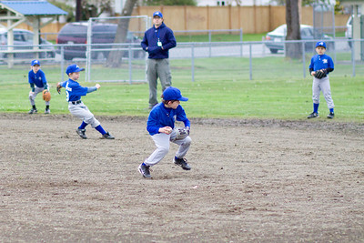 Coach Pitch Child Baseball Photography for North Everett Little League
