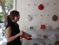 Designerin Maya in Tel Aviv