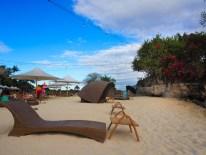 Am Strand des Shangri-La's Mactan