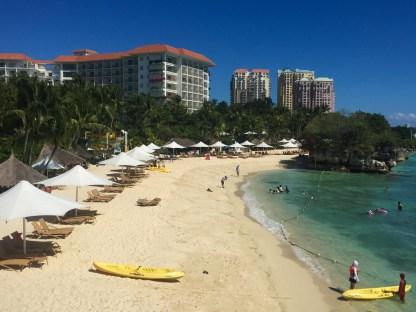 Strand des Shangri-La's Mactan