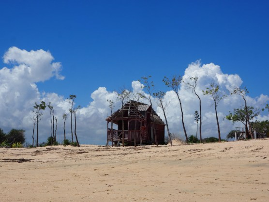 Verlassene Unterkunft in Anakao