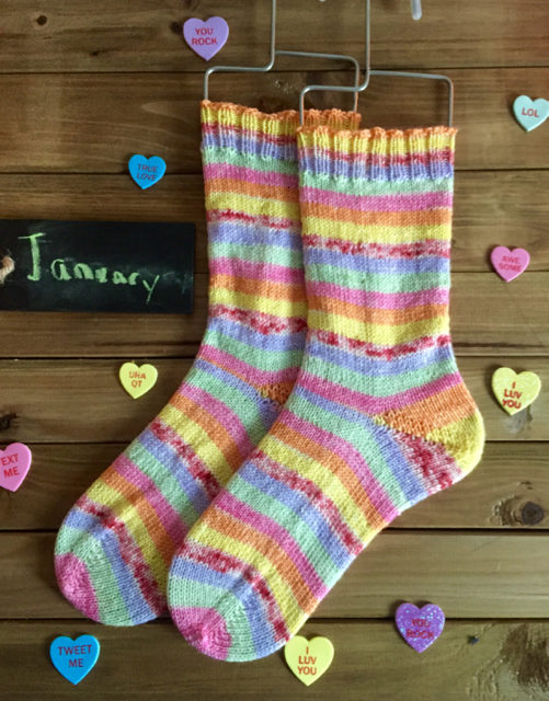 January DVD Socks
