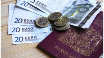 dinheiro para viagem