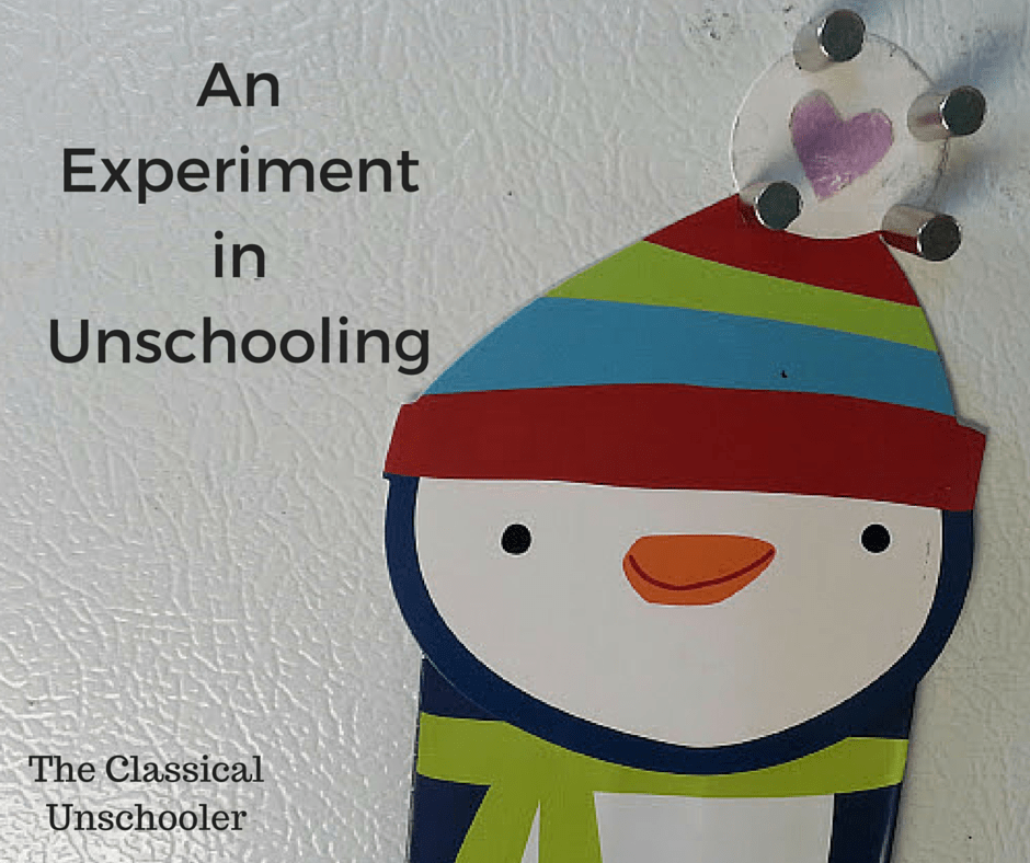 An Experiment In Unschooling