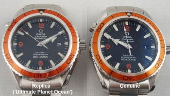 Real vs Fake Omega Seamaster