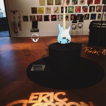 Sotheby's London | Rock & Pop exhibition and sale | Eric Clapton guitar