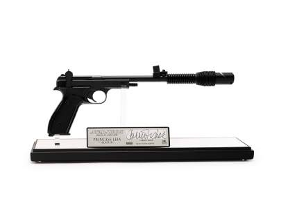 Star Wars A New Hope Leia Blaster, Master Replica, 2004 (est. $1,000-2,000)