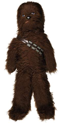 Star Wars Chewbacca 42-inch Kenner Canada Plush Store Display, circa 1978, est. $3,000-5,000