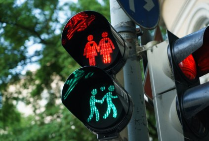 Pride traffic lights