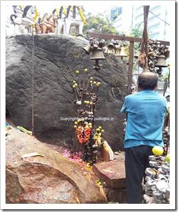 Locks In Muneswara Temple
