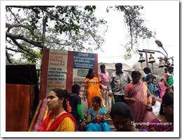 No Priest in Muneswara Temple