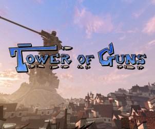 Test Tower of guns