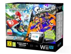 Wii U Bundle Mario Kart 8 Splatoon Image