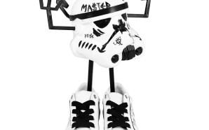 30 artistes belges réinterprètent des casques de Stormtroopers