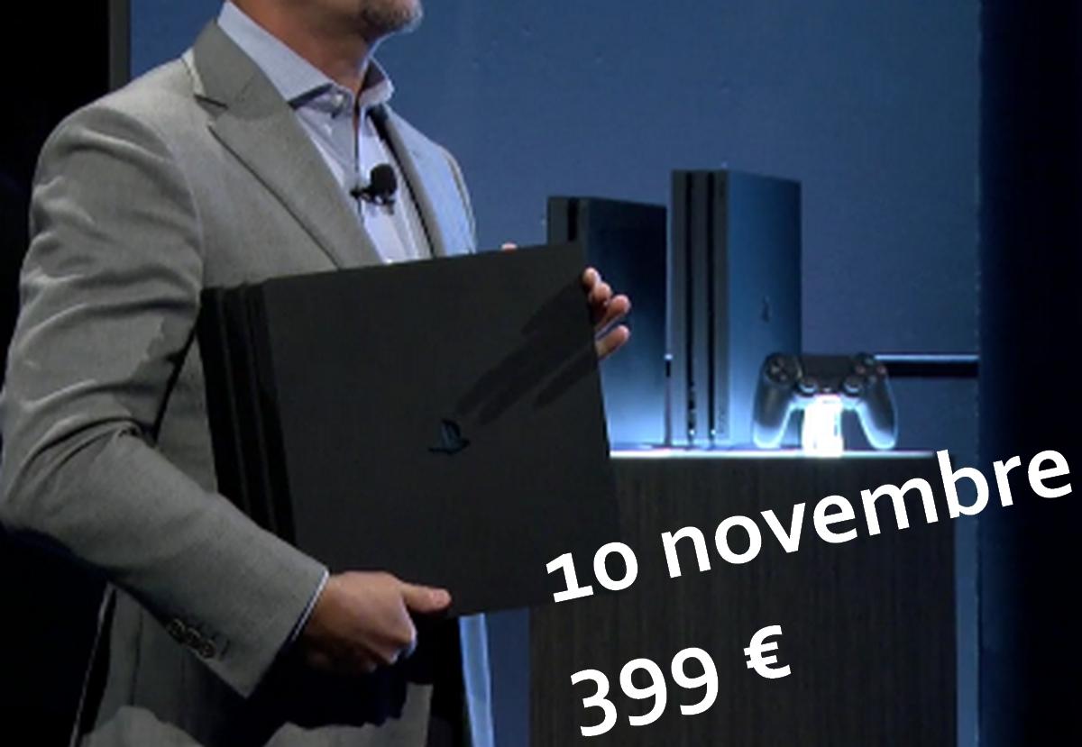 Sony dévoile sa nouvelle console — Playstation Pro