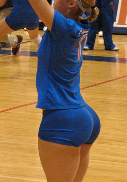 volleyball player with huge butt 0