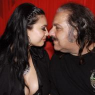 Tera Patrick wink with Ron Jeremy