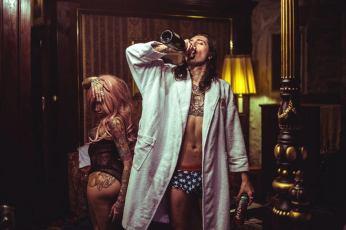 David Hener decadent rockstar drunk
