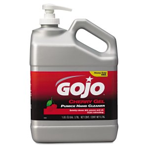 GOJO - CHERRY GEL HAND CLEANER - 1 Gallon