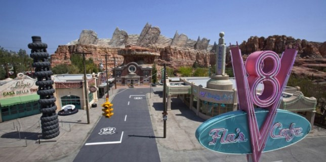 All New Disney California Adventure Park Expansion - Cars Land