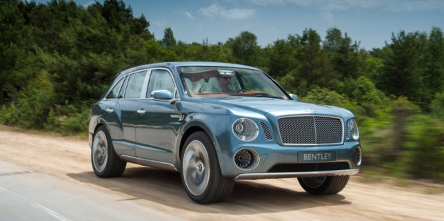 The Bentley EXP 9 F New Video