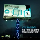 Billboard Produces Drinking Water Out of Thin Air