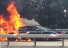 Lamborghini Gallardo Goes up in Flames