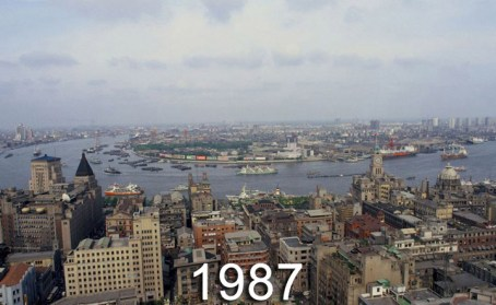 Shanghai Past and Present - 1987