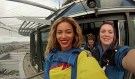 Beyonce Free Falls in New Zealand