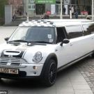The World's Longest Mini Cooper Limousine