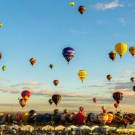 Amazing Time-Lapse of The Albuquerque Balloon Fiesta