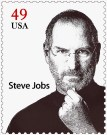 Steve Jobs on US Postage Stamp