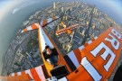 Breitling Wing Walkers Fly Over Kuwait City