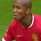 Ashley Young Swallows Bird Droppings During Game
