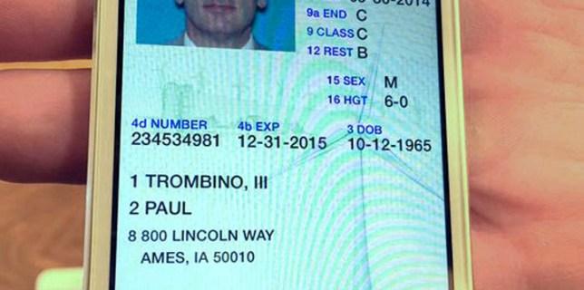 Iowa Smartphone License