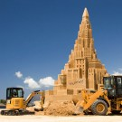 World's Tallest Sand Castle