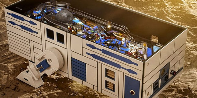 R2-D2 Pinball Machine Coffee Table