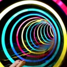 Black Hole: Amazing Colorful LED Water Slide in Germany