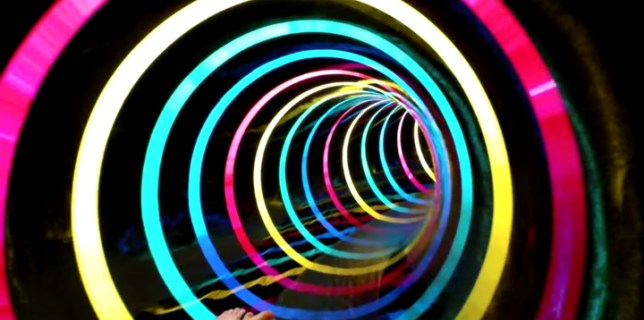 Black Hole LED Water Slide