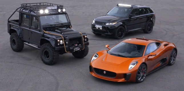 James Bond Spectre Cars
