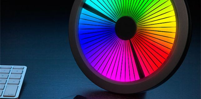 Spectrum LED Clock