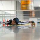 7-year-old Sets New Limbo Skating World Record