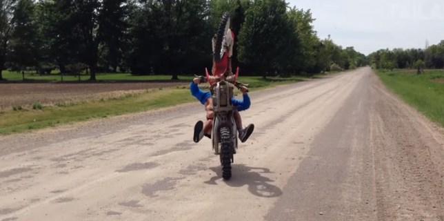 Wheelie Fail