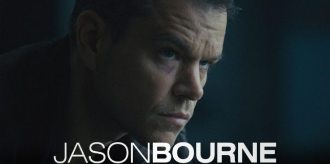 Matt Damon Jason Bourne Movie